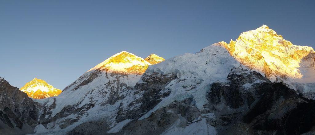Sunset on the Mt. Everest