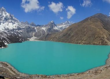 Island peak climbing with Gokyo Chola pass and EBC trek