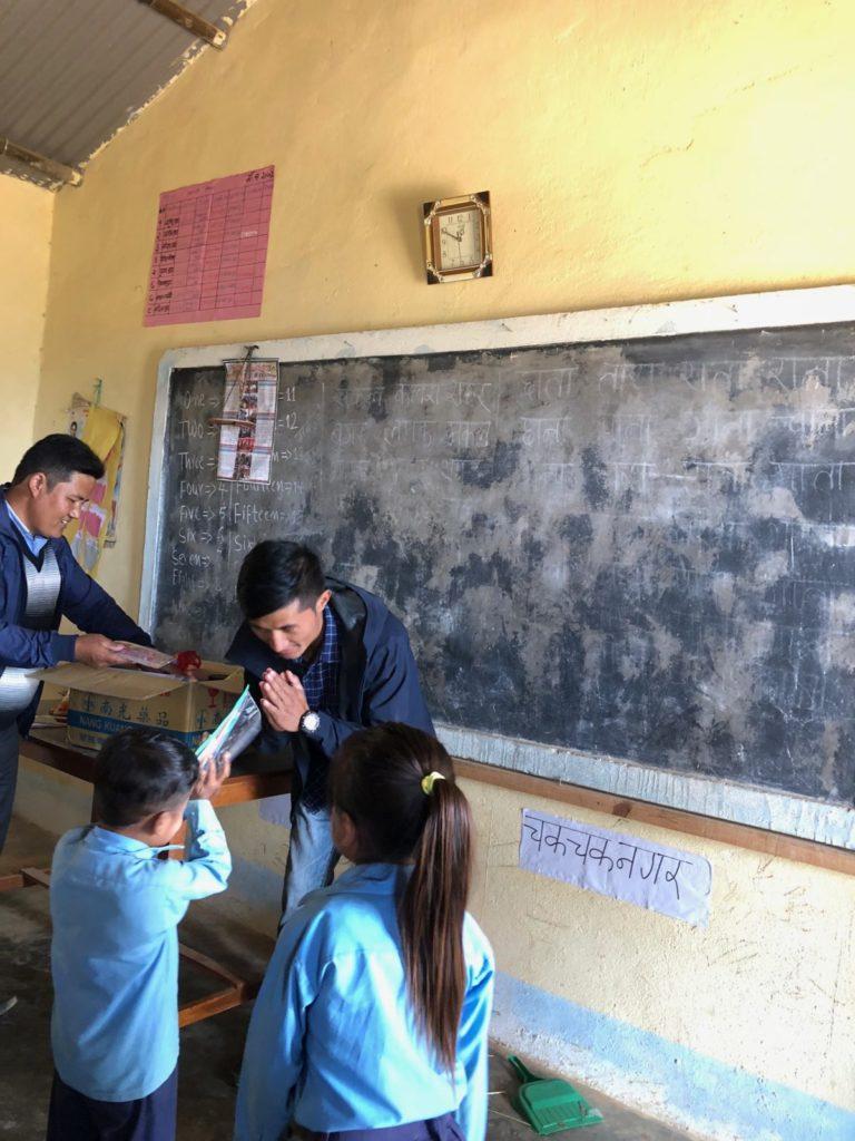 Nepal Intrepid Treks help to Students