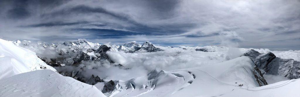 Climbing to Mera Peak